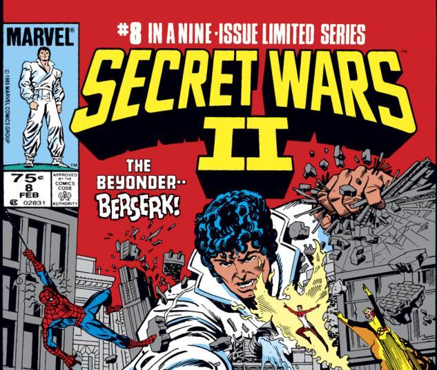 Secret Wars II (1985) #8 Cover