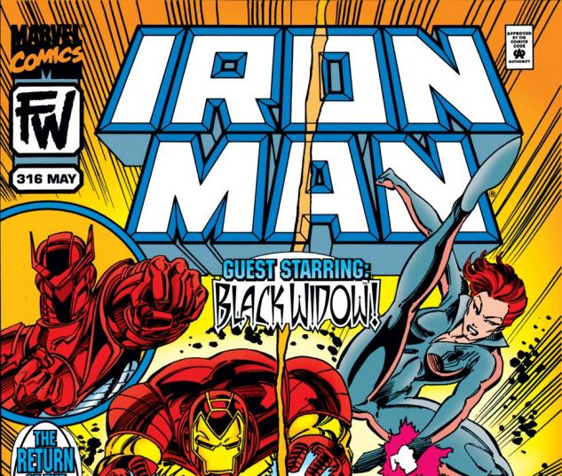 Iron Man (1968) #316 Cover