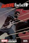 cover from Daredevil/Punisher: TBD Infinite Comic (2016) #5