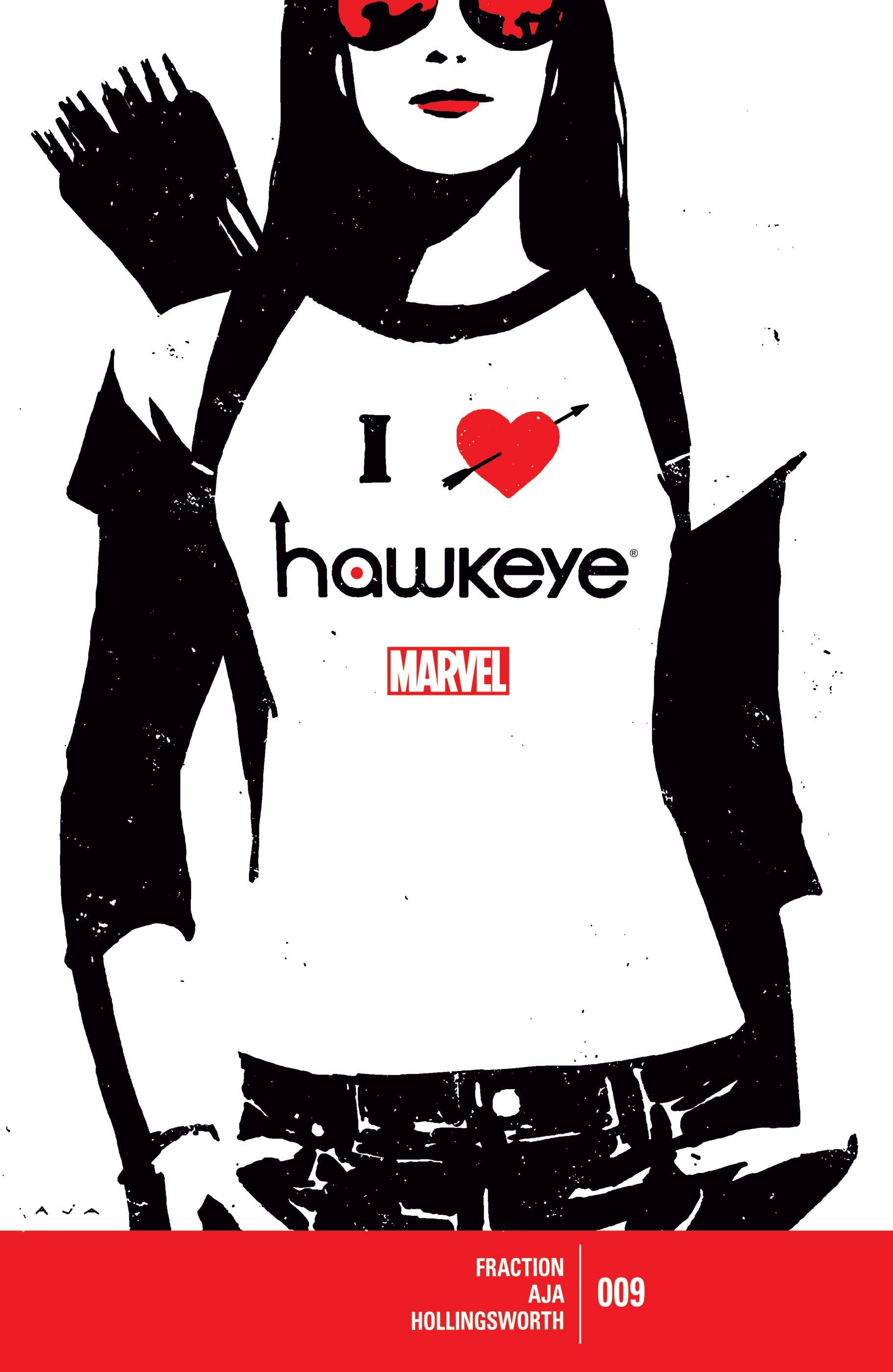Hawkeye (2012) #9