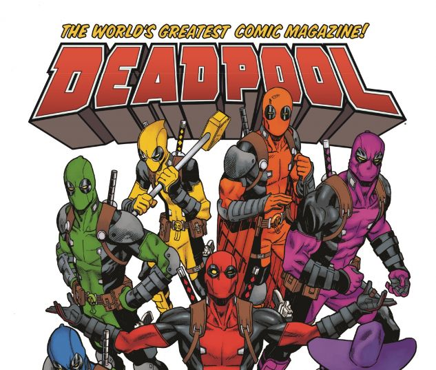 cover from Deadpool: World's Greatest (2017)