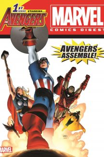 Marvel Comics Digest Starring the Avengers Vol. 3 (Digest)