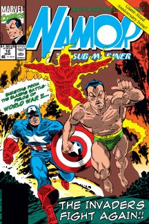 Namor: The Sub-Mariner (1990) #12