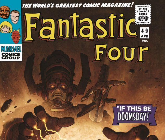 cover to FANTASTIC FOUR OMNIBUS VOL. 2 HC VARIANT (2007)