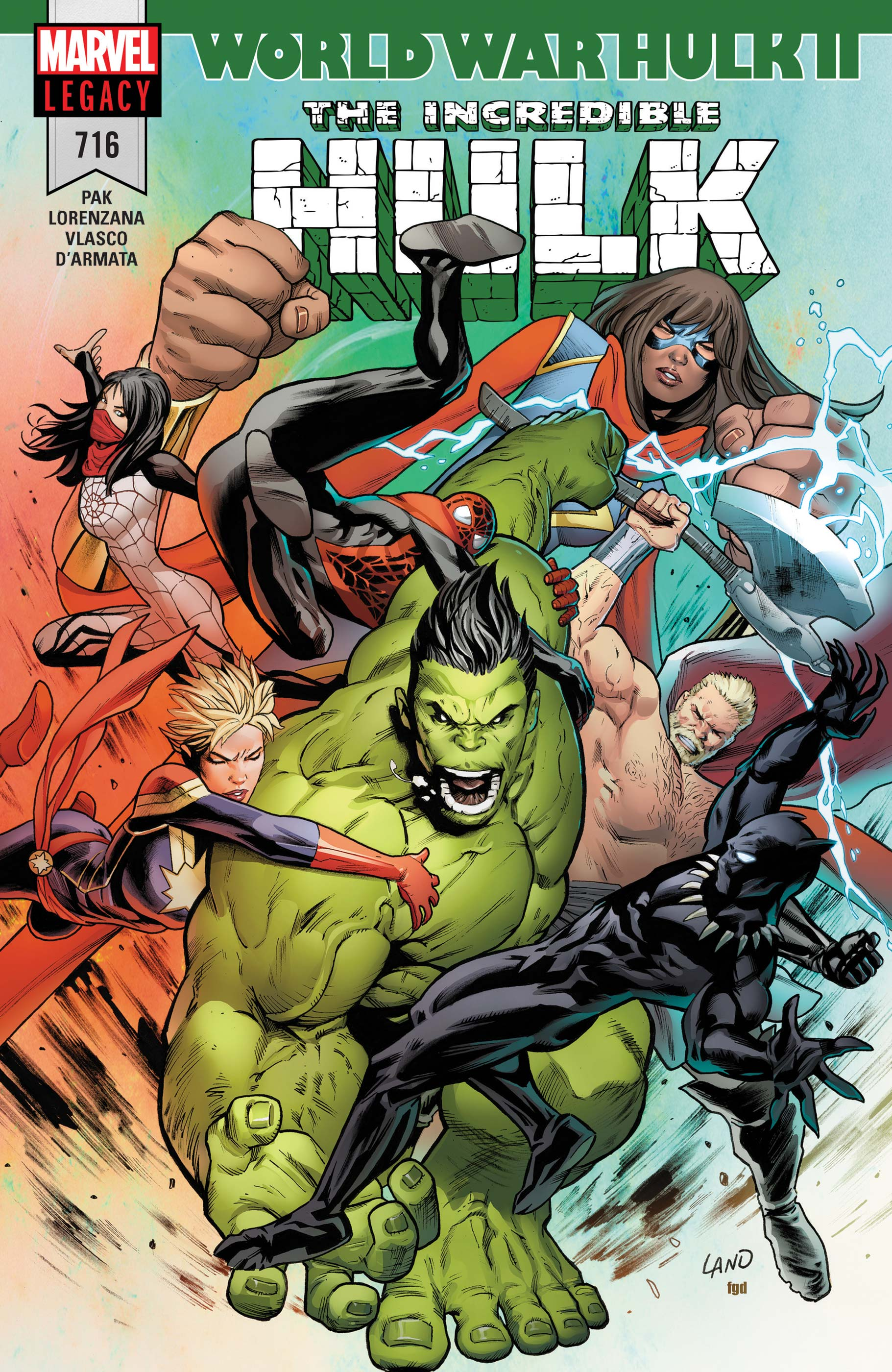 Incredible Hulk (2017) #716