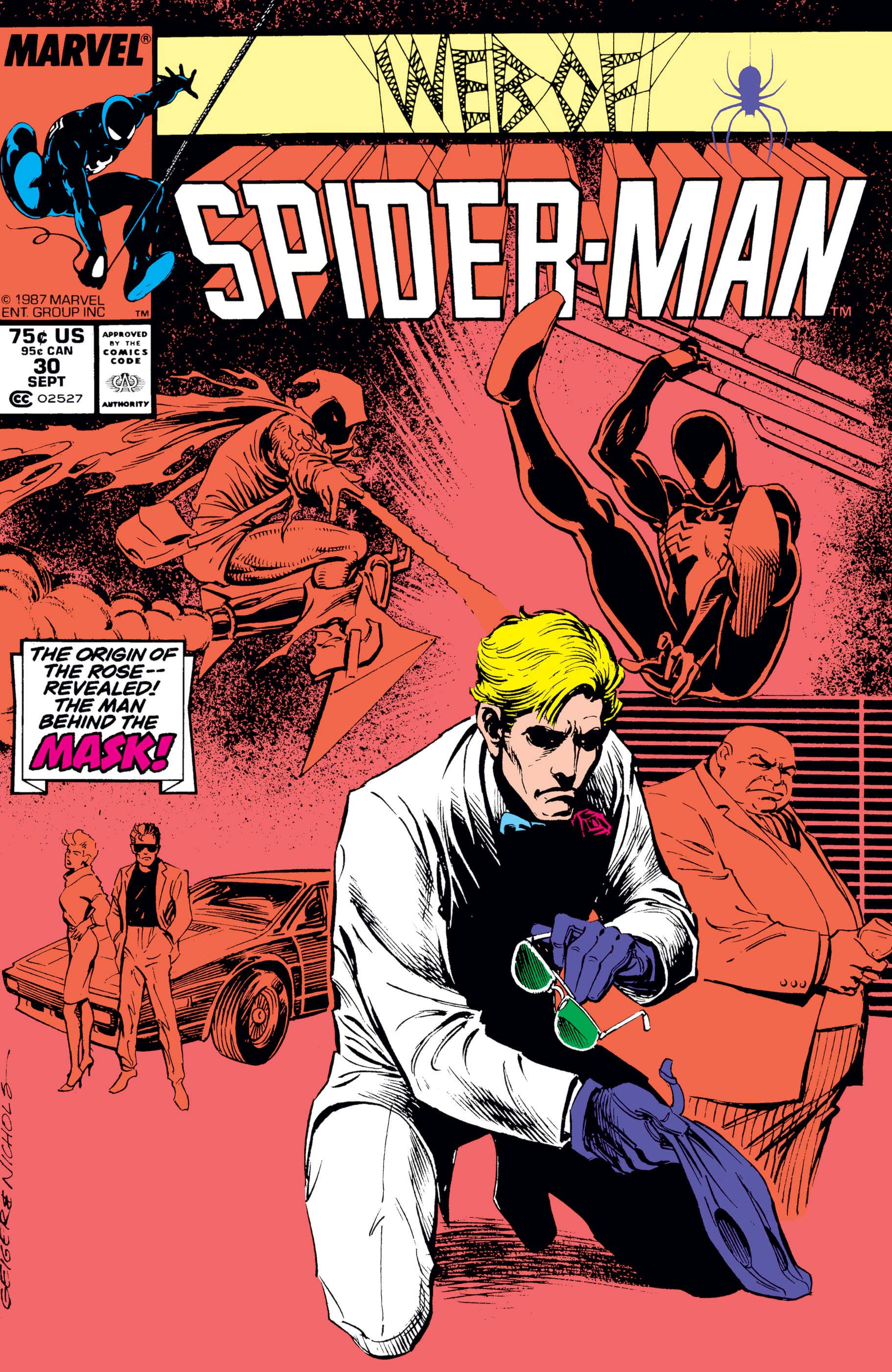 Web of Spider-Man (1985) #30