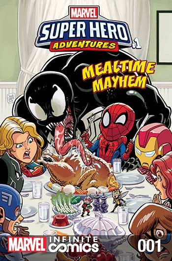 Marvel Super Hero Adventures: Captain Marvel - Mealtime Mayhem (2019) #1