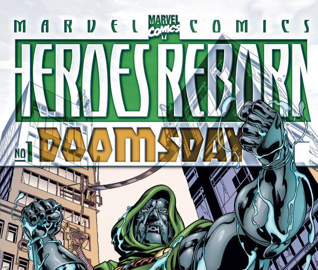 HEROES REBORN DOOMSDAY 1 #1