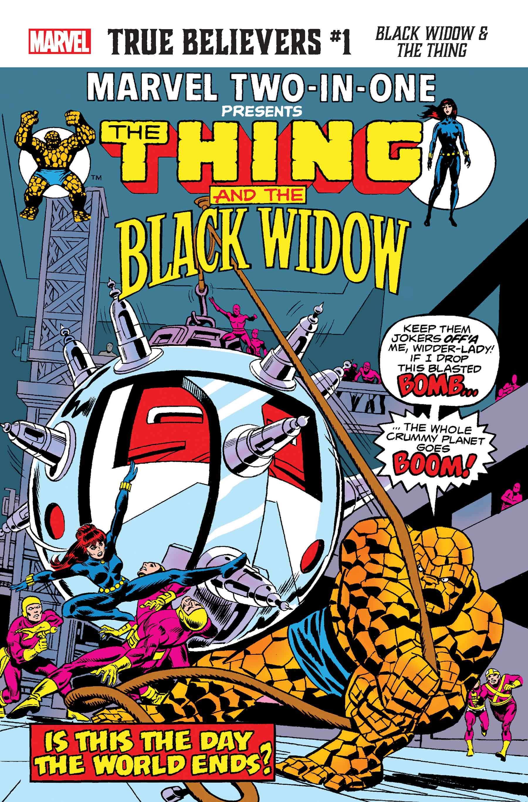 TRUE BELIEVERS: BLACK WIDOW & THE THING 1 (2020) #1