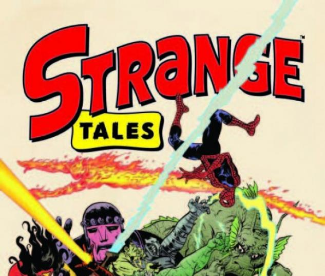 STRANGE TALES #1 cover by Paul Pope