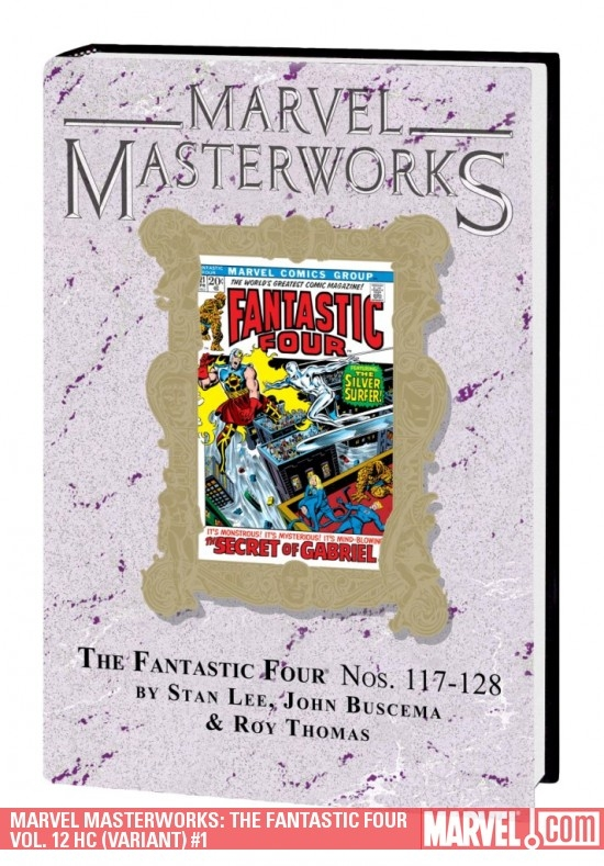 Marvel Masterworks: The Fantastic Four Vol. 12 (Variant) (Hardcover)