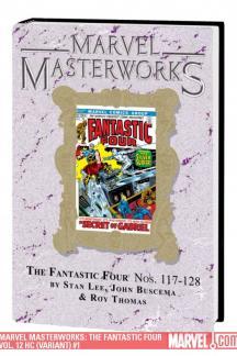 Marvel Masterworks: The Fantastic Four Vol. 12 (Variant) (Hardcover)
