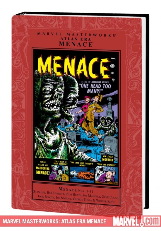 Marvel Masterworks: Atlas Era Menace Vol. 1 (Hardcover)
