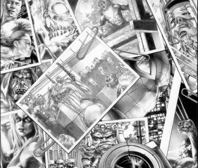 MARVELS: EYE OF THE CAMERA #6 (BLACK AND WHITE VARIANT)
