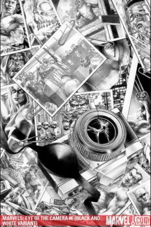 Marvels: Eye of the Camera (2008) #6 (BLACK AND WHITE VARIANT)