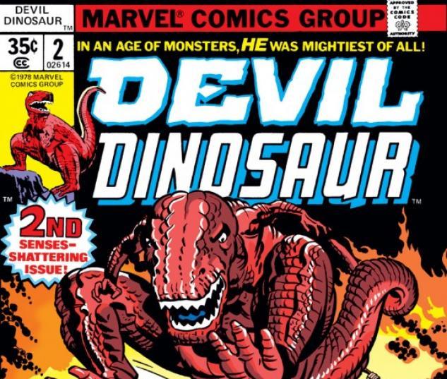 DEVIL DINOSAUR #2 COVER