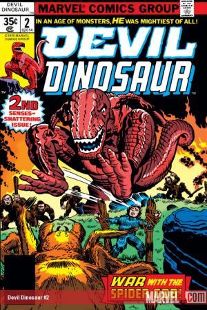 Devil Dinosaur (1978) #2