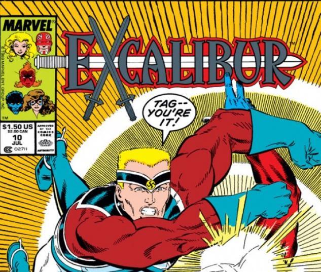 EXCALIBUR #10 COVER