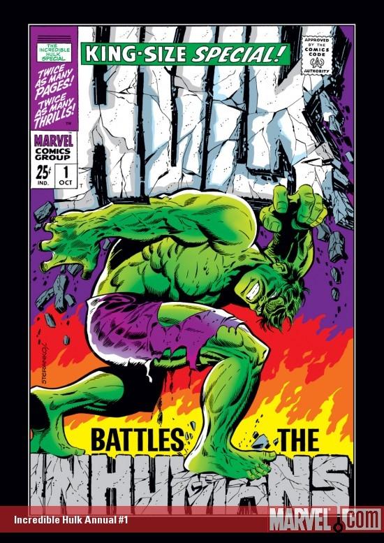 Incredible Hulk Annual (1968) #1