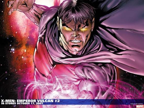 X-Men: Emperor Vulcan (2007) #2 Wallpaper