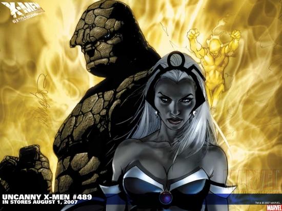 Uncanny X-Men (1963) #489 Wallpaper