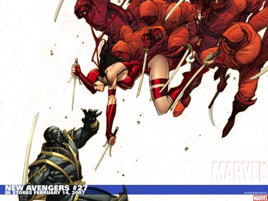 New Avengers (2004) #27 Wallpaper