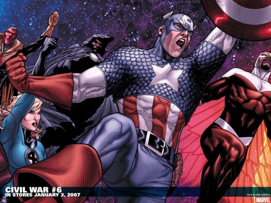 Civil War (2006) #6 Wallpaper