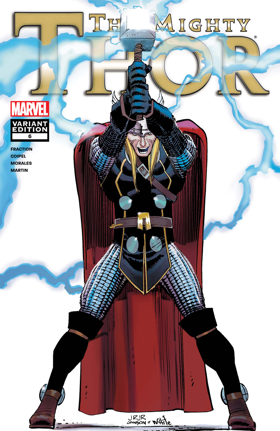 The Mighty Thor (2011) #6 (Architect Variant)