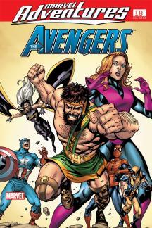 Marvel Adventures the Avengers #18