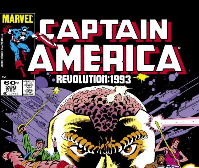 Captain America (1968) #288 Cover