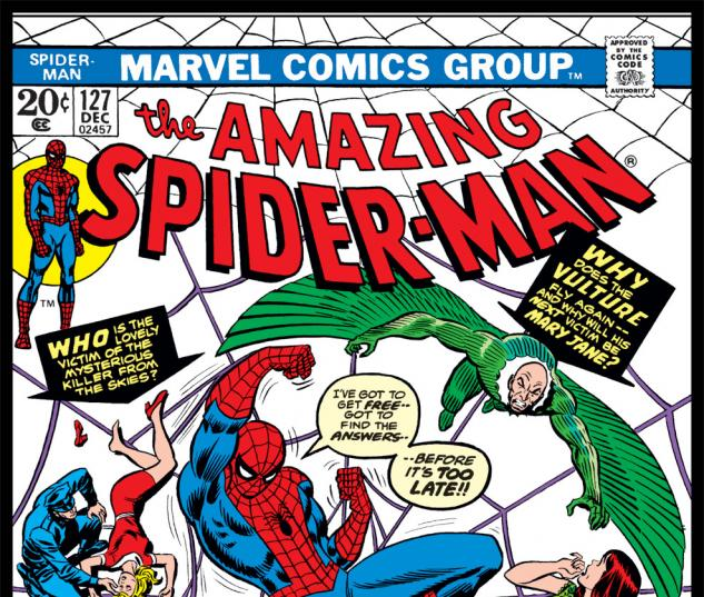 Amazing Spider-Man (1963) #127 Cover