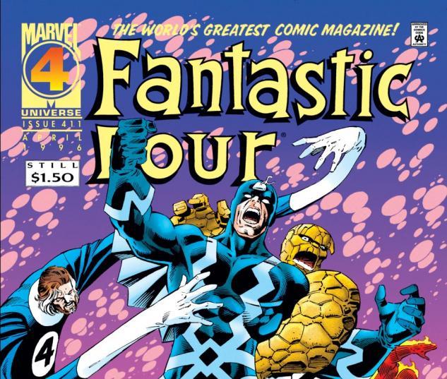 Fantastic Four (1961) #411 Cover