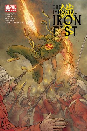 The Immortal Iron Fist (2006) #15