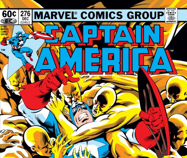 Captain America (1968) #276 Cover