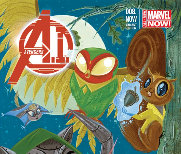 AVENGERS A.I. 8.NOW BUSCEMA ANIMAL VARIANT (ANMN)