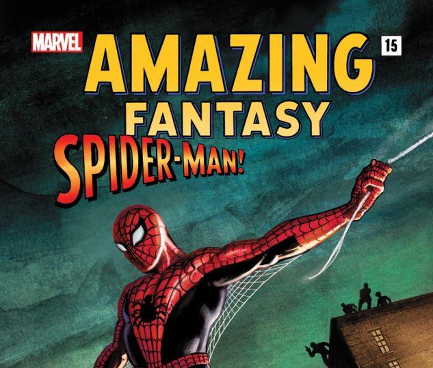 AMAZING FANTASY 15: SPIDER-MAN! (2011) #1 Cover