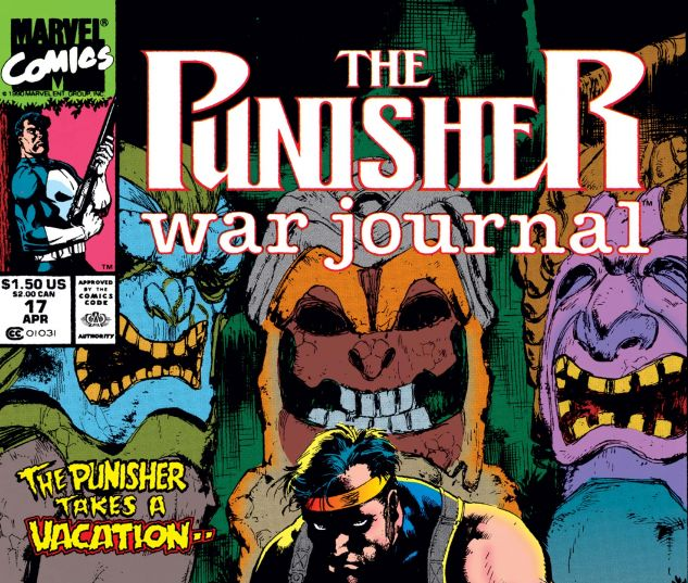 Cover for PUNISHER WAR JOURNAL #17