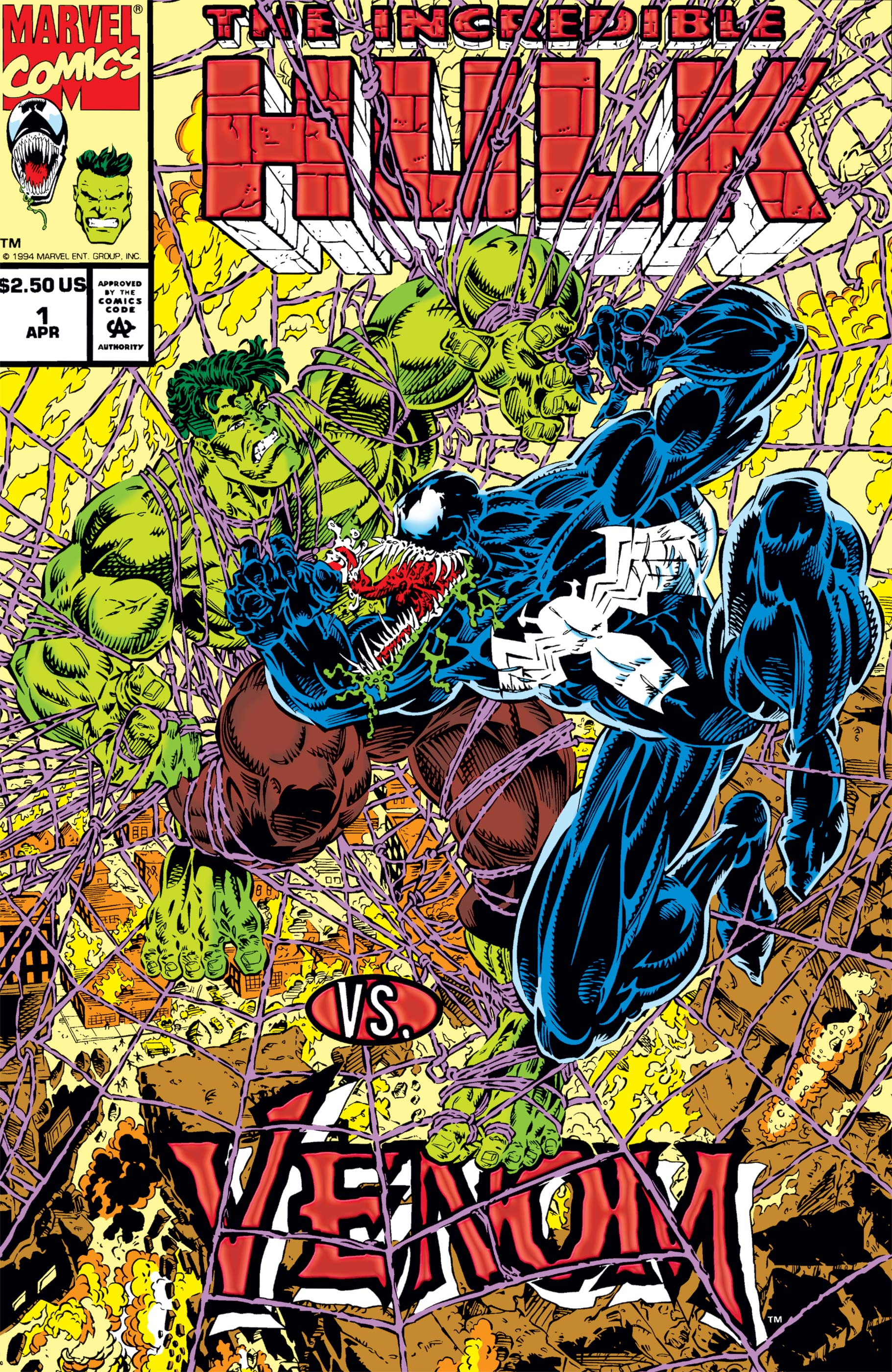 Incredible Hulk Vs. Venom (1994) #1