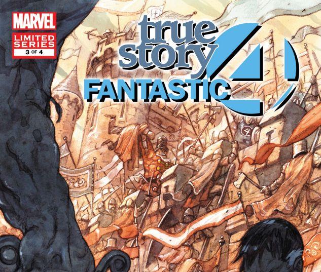 FANTASTIC FOUR: TRUE STORY (2008) #3