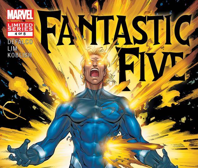 Fantastic Five (2007) #4