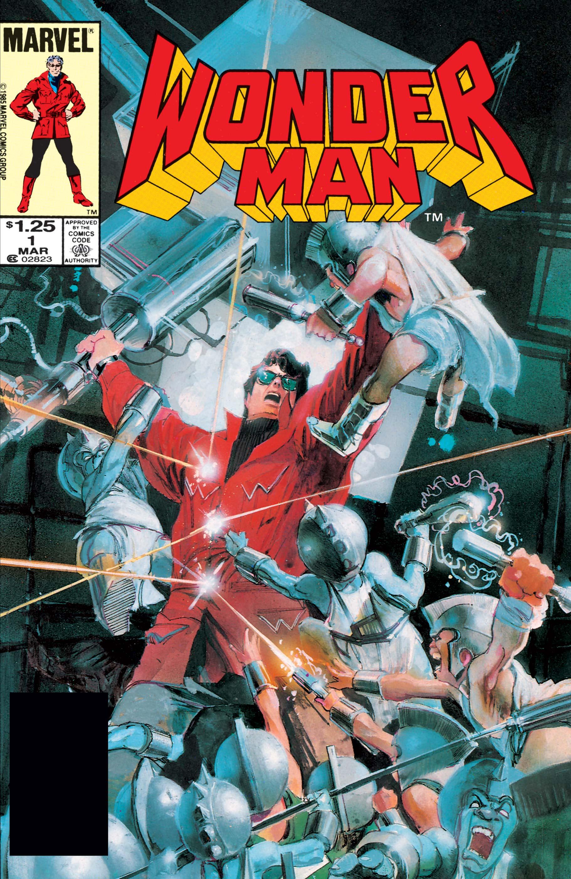 Wonder Man (1986) #1