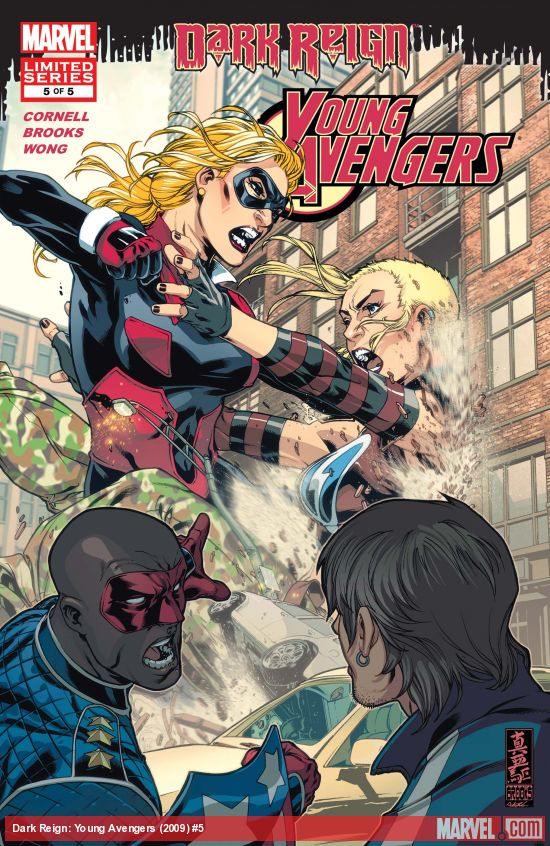 Dark Reign: Young Avengers (2009) #5