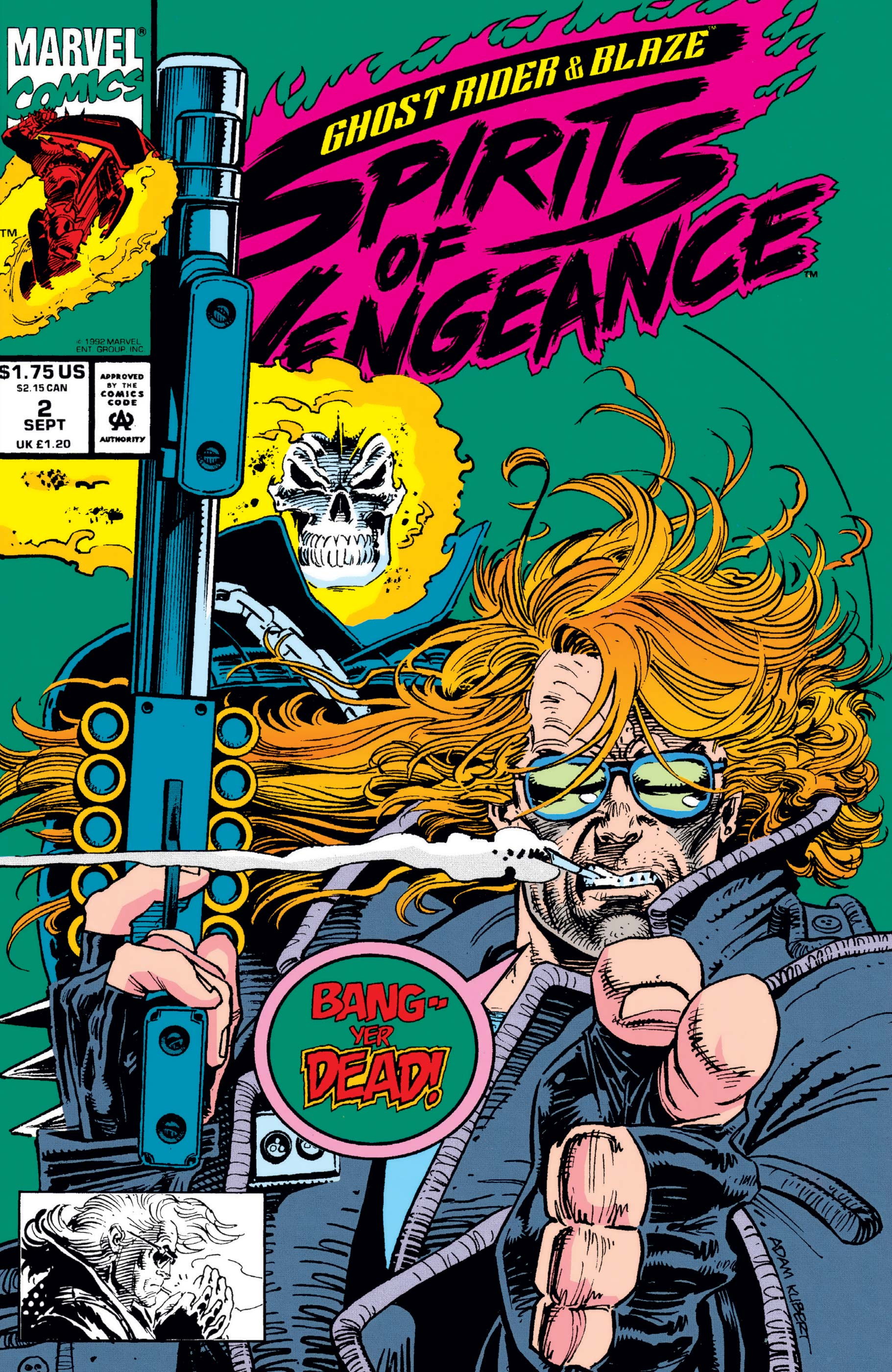 Ghost Rider/Blaze: Spirits Of Vengeance (1992) #2