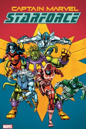Captain Marvel: Starforce (Trade Paperback)