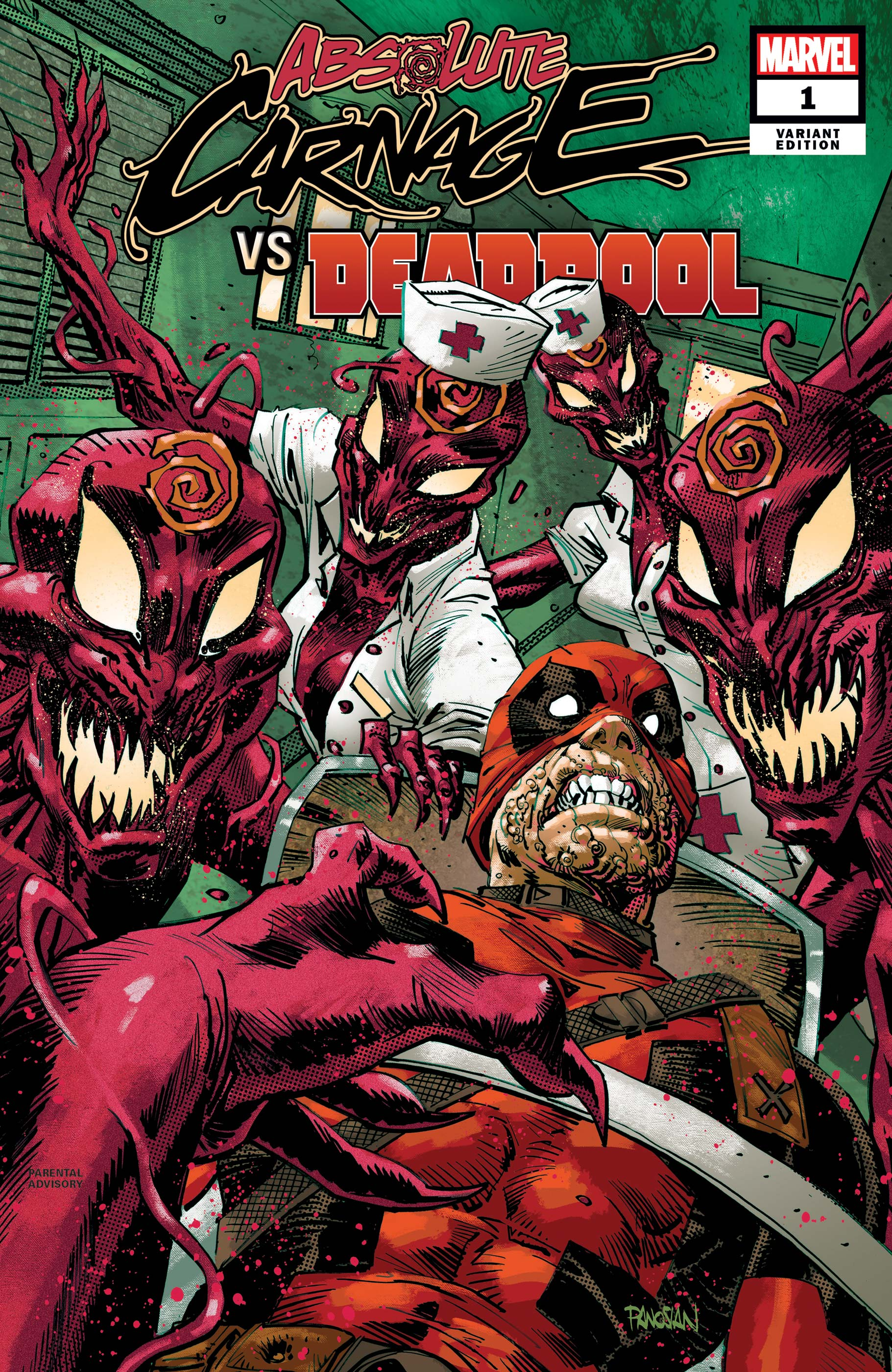 Absolute Carnage Vs. Deadpool (2019) #1 (Variant)