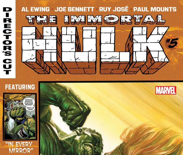 Immortal Hulk Director's Cut #5