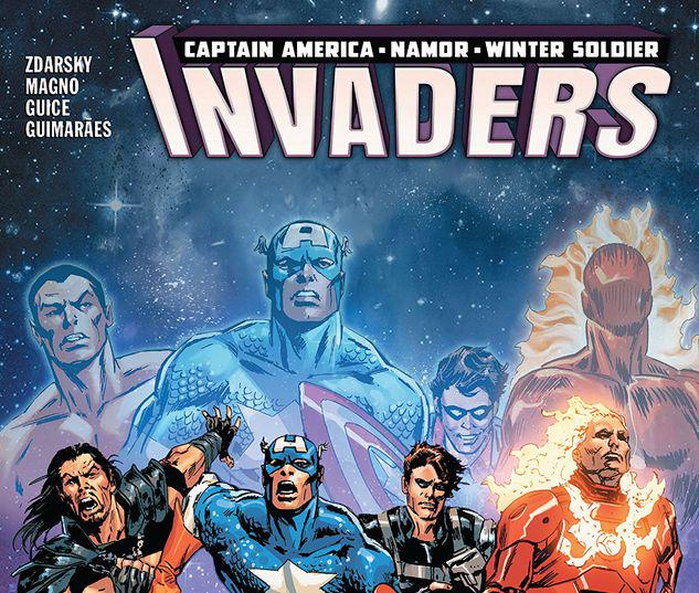 INVADERS VOL. 2: DEAD IN THE WATER TPB #2