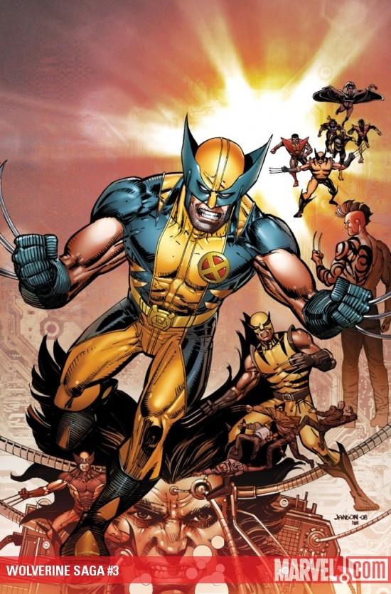 Wolverine Saga (2009) #3