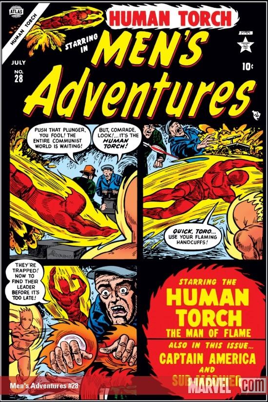 Men's Adventures (1950) #28