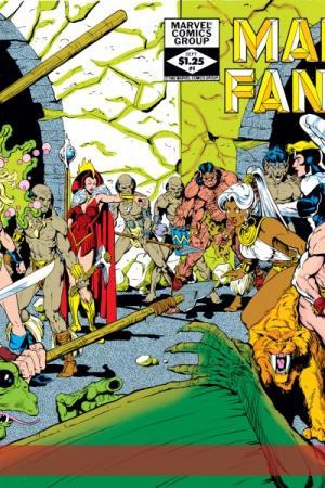 Marvel Fanfare (1982) #4